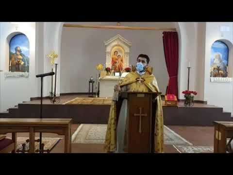 English and Armenian Sermon, September 27, 2020