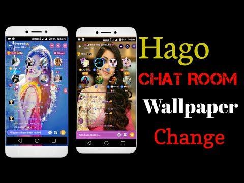 Hago Chat Room Wallpaper Change