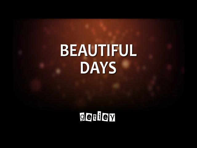 Getiey - Beautiful Days