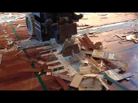 Video - Aftagning af trægulv