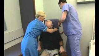 Oxford Presence Disability Aid Hoist Chair to Bed Transfer.mpeg
