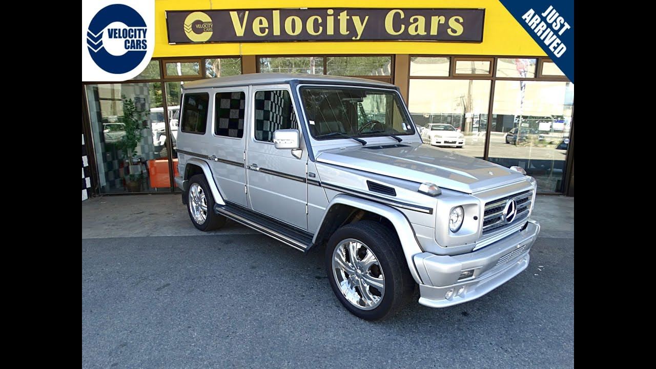 2000 Mercedes Benz G320 2 Year Warranty Clean 126 Kms For