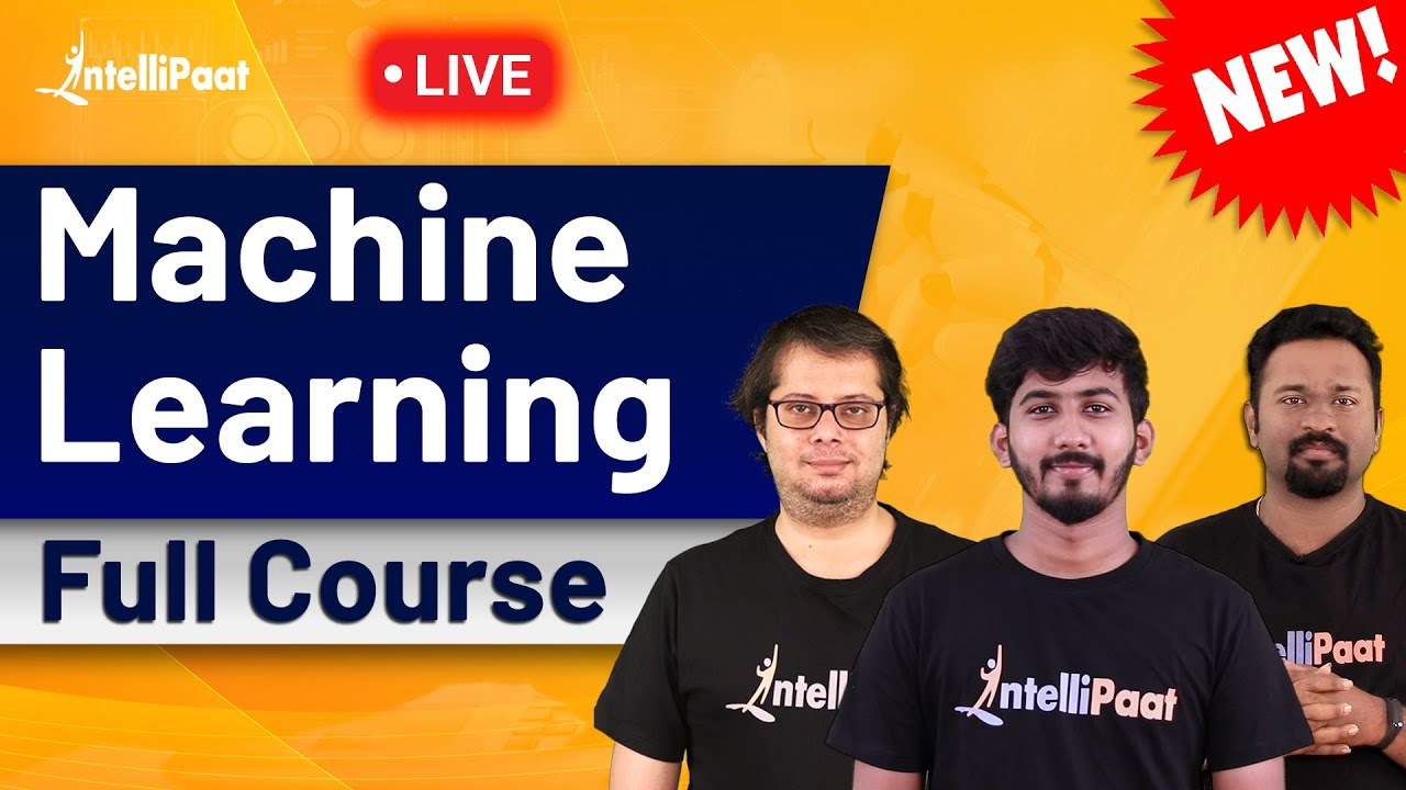 Machine Learning Python Course   Machine Learning Tutorial For Beginners   Intellipaat