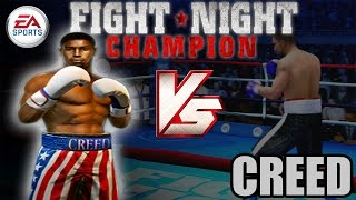 ADONIS CREED VS RICKY CONLAN | Fight Night Champion (Cinematic)