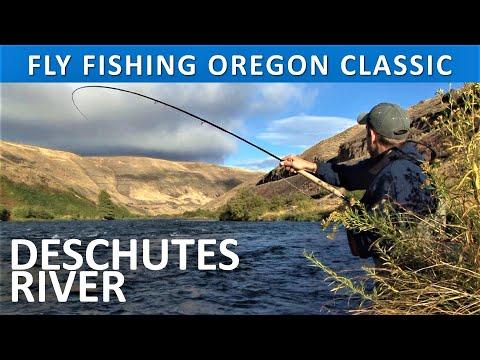 Fly Fishing Oregon FWL Classic Deschutes River Steelhead October