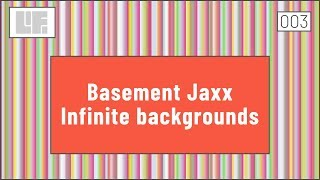 003 - Basement Jaxx album cover with CSS and Prime Numbers
