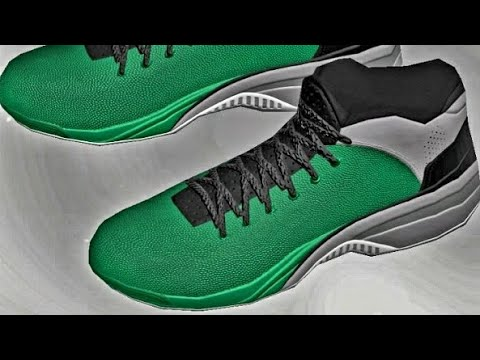 NBA 2K18 - CUSTOM SHOES | HOW TO CREATE THE AIR JORDAN FLIGHT SYSTEMS LOWCUTS + MORE COLOUR WAYS