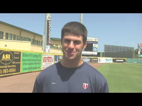 Interview with Twins catcher Joe Mauer (Part 2 of 2)