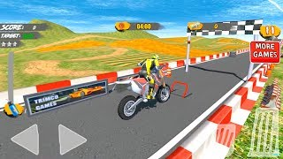Hill Bike Galaxy Trail World 2 Motorcycle Racing - Android Gameplay Video