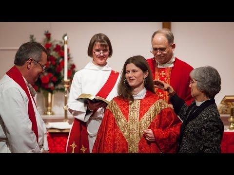 The Ordination of the Rev. Margaret Elizabeth Peel (December 18, 2013)