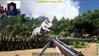 t rex a mis puertas ark survival evolved 23 temporada 2