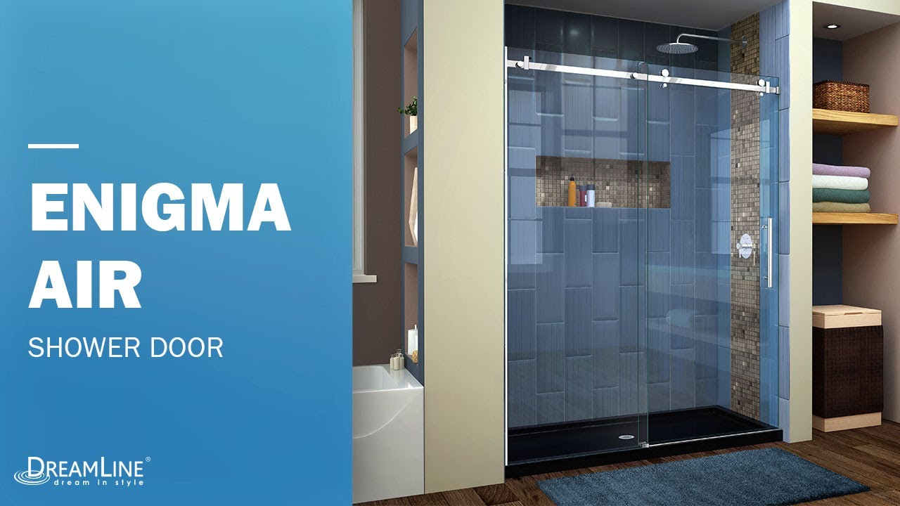enigma air shower door opening