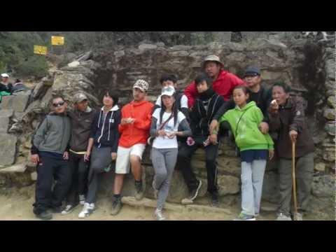 NTLA Trip to Namche bazaar for Namche Festival 2012 on HD