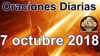 Oraciones diarias con amor Domingo 7 octubre 2018 Palabra de vida Evangelio de hoy