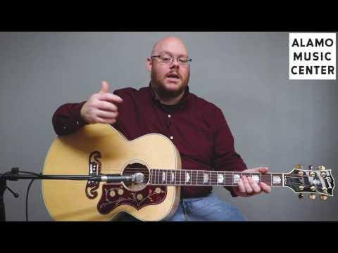 Gibson SJ200 Standard Demo & Review