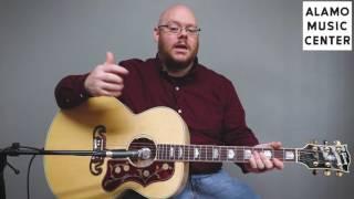 Gibson SJ-200 Standard Demo & Review