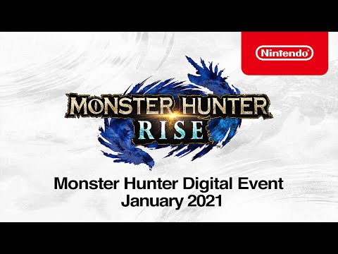 Monster Hunter Digital Event - January 2021 - Nintendo Switch