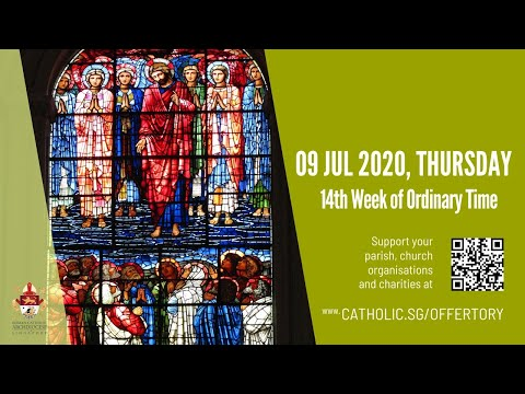 Catholic Weekday Mass Today Online -  Thursday, 14th Week of Ordinary Time 2020