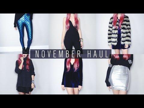 November Haul | Missguided, Grafea, Gypsy Warrior, Spy Love Buy etc.