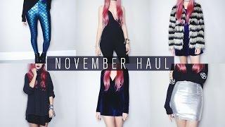 November Haul | Missguided, Grafea, Gypsy Warrior, Spy Love Buy etc. Thumbnail
