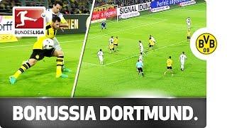 Amazing borussia dortmund team goal!