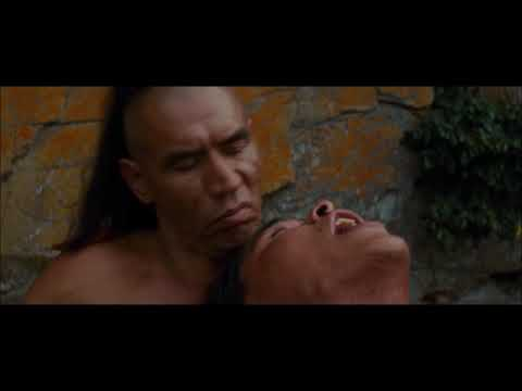 Another Last Of The Mohicans clip  Uncas and Alice die