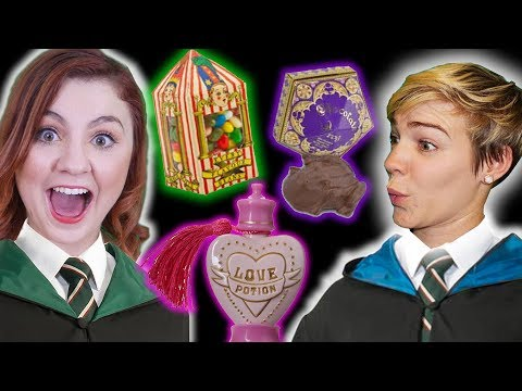 Trying Harry Potter Candy ... GROSS!