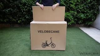 Architecture d'un vélo électrique Velobecane