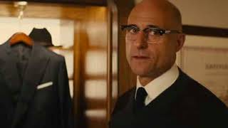 Kingsman 2 Merlin's Death and Last Song