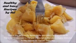 Sweet Potato Yams with Palm Sugar Recipe