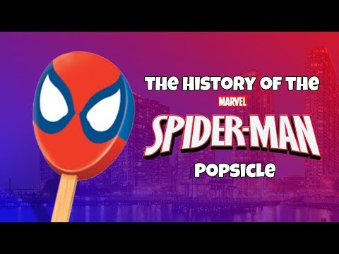 The History Of The Spider-Man Popsicle