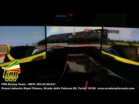 FRR Simulator driver FRR 1 sul GP d'Austria