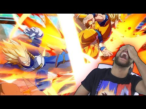 BE AFRAID! I JUST NOW LEARNED SUPER ATTACKS LMAO | Dragon Ball FighterZ Gameplay