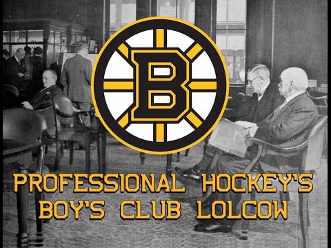 The Boston Bruins - Professional Hockey's Boy's Club Lolcow