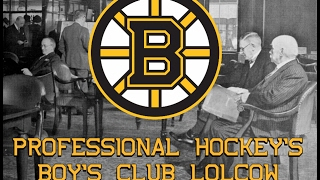 The Boston Bruins - Professional Hockey