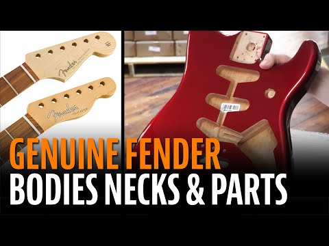 Genuine Fender Bodies, Necks And Parts For Stratocasters And Telecasters