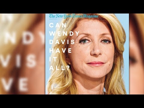 Why This Wendy Davis Cover Is Sexist (And Why It Isn't)