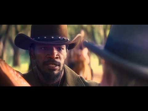 "Django Unchained - Clip ""Mi sto sporcando"""