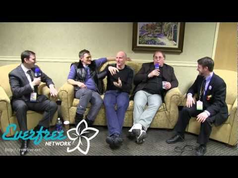 Garry Chalk, Michael Daingerfield and Mark Oliver Interview - EQI - Las Pegasus Unicon 2013