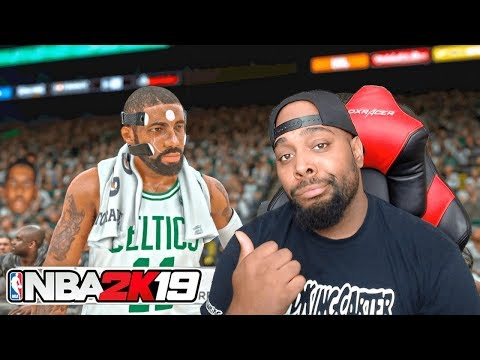 NBA 2K19 FIRST LOOK GAMEPLAY REACTION! EXPOSING THIS FAKE CHANNEL & 2K GONNA SUE THEM TOO!