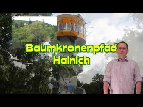 Baumkronenpfad Hainich-dem Urwald auf das Dach steigen *Sehenswürdigkeiten in Thüringen