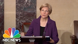 Democrats Take To Senate Floor To Protest Betsy DeVos Nomination | NBC News