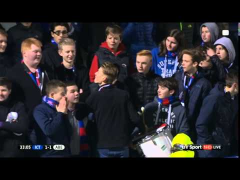 Inverness Caledonian Thistle - Drummer and Singers!