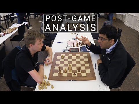 Anand and Beerdsen Analyze Their Game | Post-Game Chess Analysis