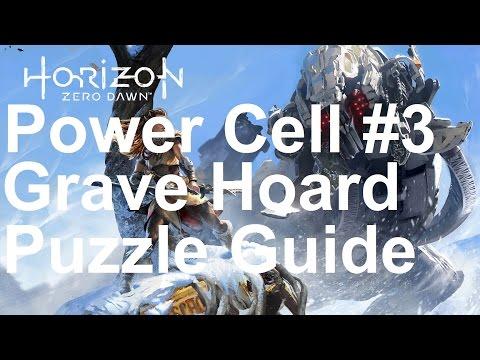 Horizon Zero Dawn - Power Cell #3 - The Grave Hoard Puzzle