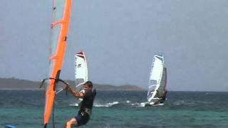 Windsurf San Teodoro Sardinien La Cinta