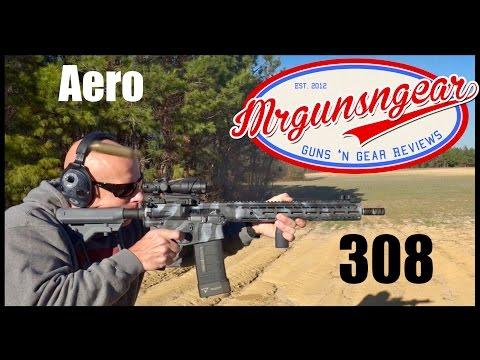 Aero Precision M5E1 AR-10 308 Rifle Review (HD)