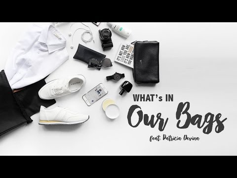 WHAT'S IN YOUR BAG? (with) Patricia Devina [BAHASA INDONESIA]