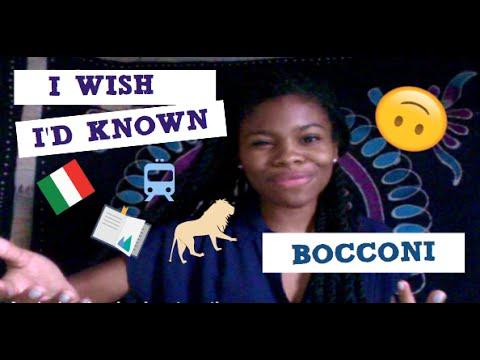 WHAT YOU NEED TO KNOW ABOUT BOCCONI   ESPERIENZA ALL'UNIVERSITÀ BOCCONI