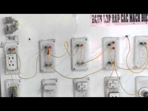 Bảng lắp ráp các mạch điện - Tổ KT Công Nghiệp